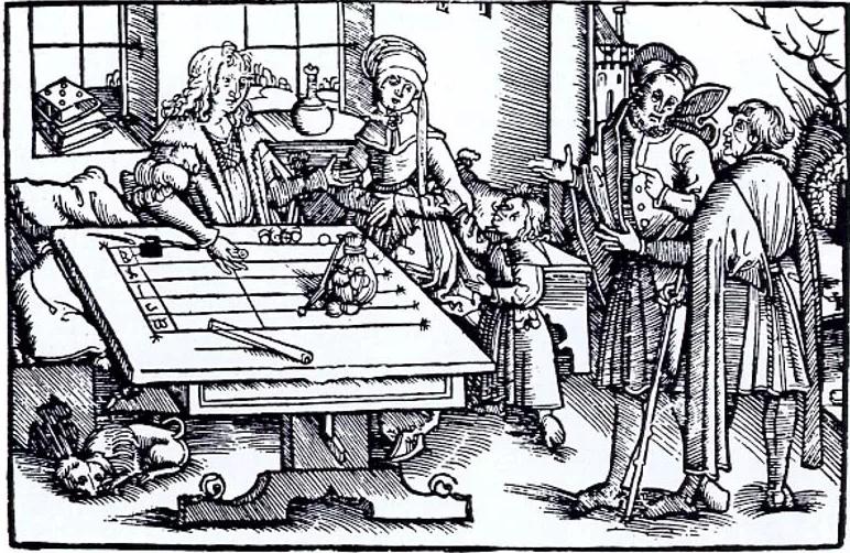 Средневековая высшая математика